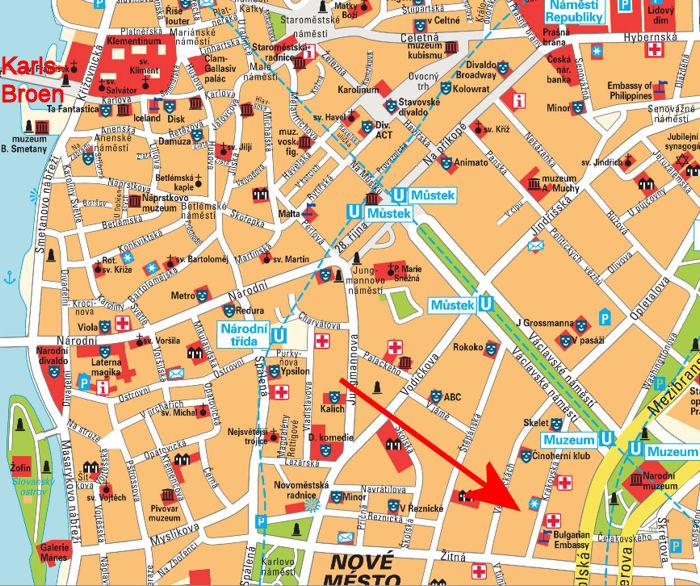 Prag Eksperten Krakovska Apartment Prag 1